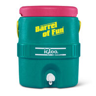 Igloo Retro Barrel of Fun 2-Gallon Jug