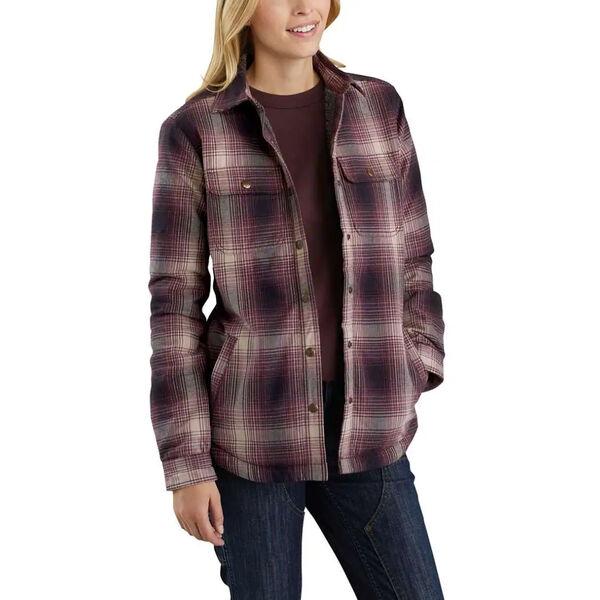 Carhartt Women's Hubbard Sherpa-Lined Shirt Jacket