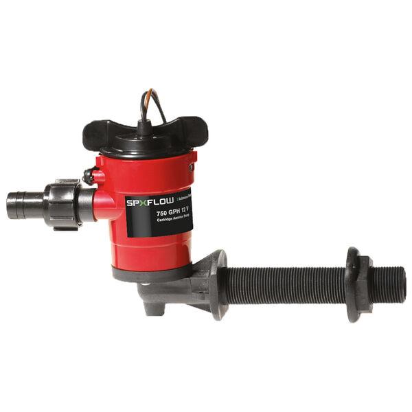 Johnson Pump Cartridge Aerator Pump, 750 GPH / 90° Fitting