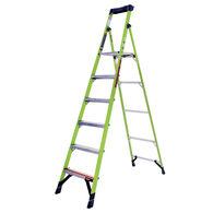 8' Mightylite Fiberglass Ladder, Type IAA 375lbs