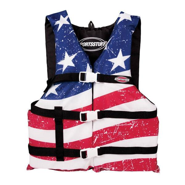 Airhead Adult Stars & Stripes General Purpose Life Vest