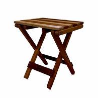 Cedar Wood BeachSide Table, Clear Sealant