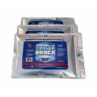 """Cooler Shock Reusable Ice Packs, Large, 10"""" x 14"""""""