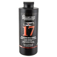 Alliant Powder Reloder 17 Rifle Powder, 1-lb. Canister