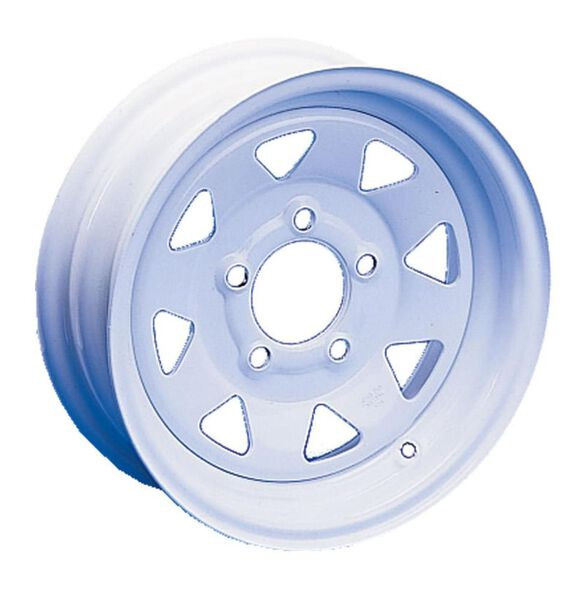 "8-Spoke Wheel 13"" x 4 1/2"" - 5 Lugs - 4 1/2"" Bolt Pattern"