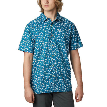 Columbia Men's PFG Super Slack Tide Camp Shirt