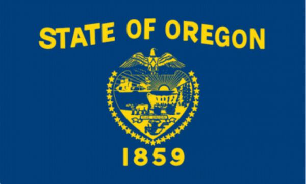 Oregon State Flag