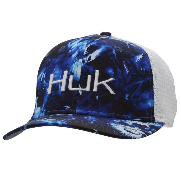 HUK Men's Camo Trucker Cap