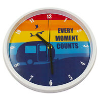 """""""Every Moment Counts"""" Wall Clock"""