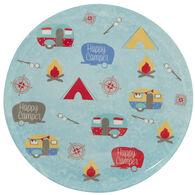 Happy Camper Melamine Plate