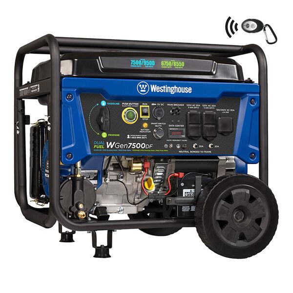 Westinghouse WGen7500DF 9,500/7,500 Watt Dual Fuel Portable Generator