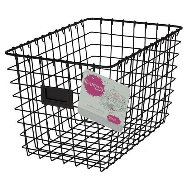 Harmony Home Medium Wire Basket