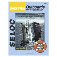 Seloc Marine Outboard Repair Manuals for Johnson/Evinrude '90 - '01