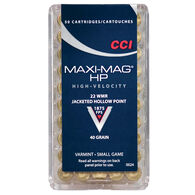 CCI Maxi Mag Varmint Ammo, .22 WMR, 40-gr., JHP