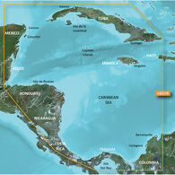 Garmin BlueChart g2 Vision HD Cartography, Southwest Caribbean