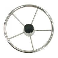 "Whitecap Destroyer 13"" Steering Wheel with Black Cap"