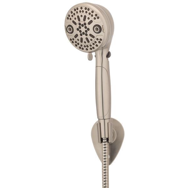 Oxygenics PowerFlow RV Handheld Shower Head Kit, Brushed Nickel