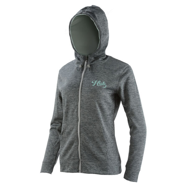 HUK Women's Hull Full-Zip Fleece Hoodie