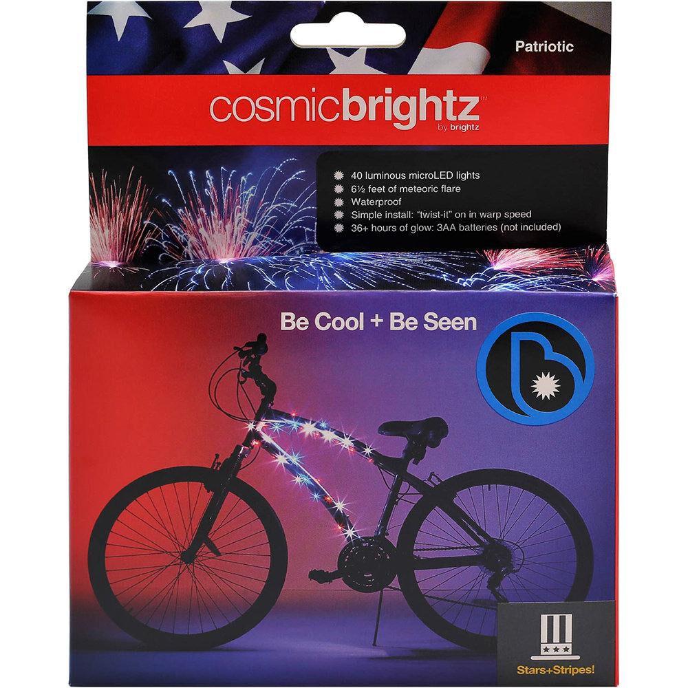Purple Cosmic Brightz Bike LED Lights FREE SHIPPING!!!!!!!!