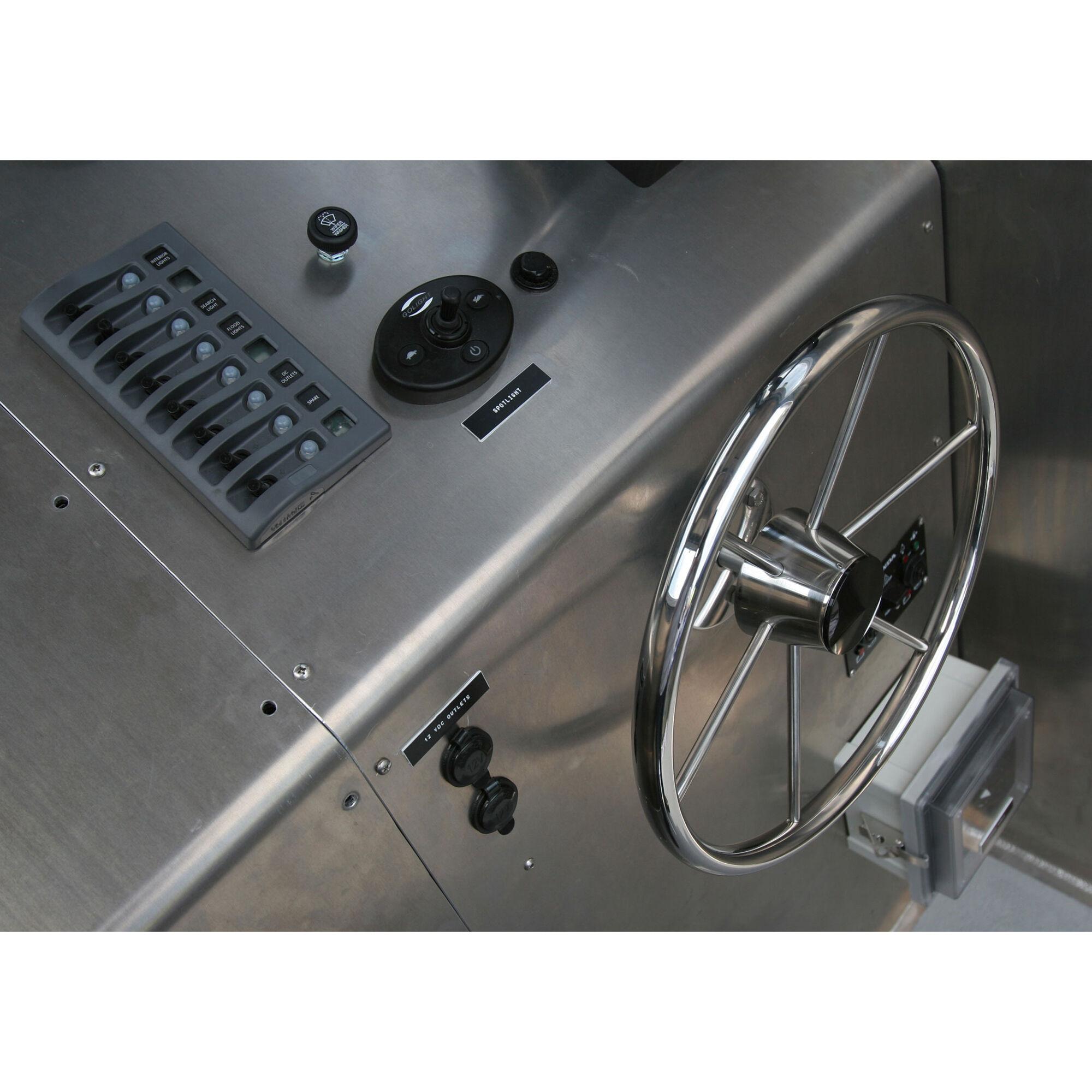 4378 Blue Sea 4378 WeatherDeck Water Resistant Circuit Breaker Panel 8 Position