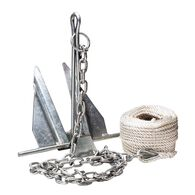 Overton's #10 Slip-Ring Galvanized Anchor Kit
