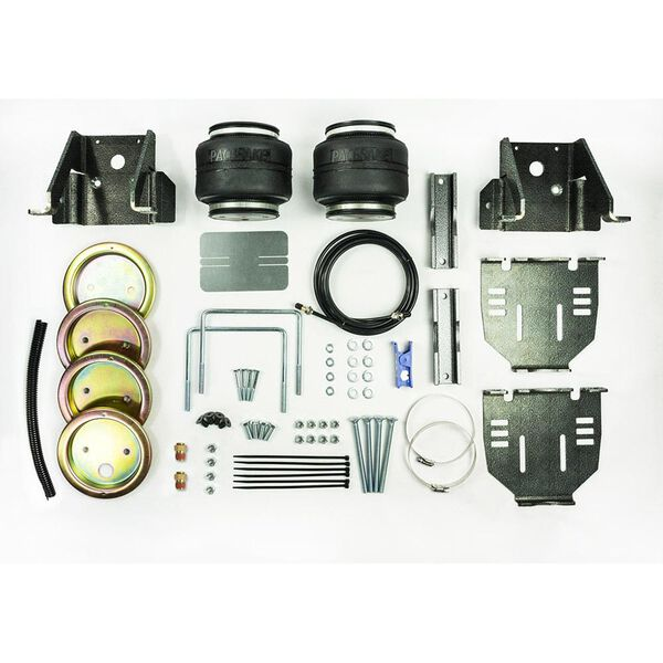 Pacbrake AMP Air Suspension Kit, 2013-2015 Chevy/GMC G3500 & G4500 2WD Class C Motorhome Chassis with Dual Rear Wheels