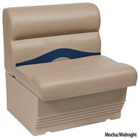 "Toonmate Premium Pontoon 27"" Wide Lounge Seat w/Mocha Base"
