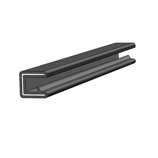 TACO Marine Flex Trim, 1/4'' OPENING X 1/2'', Black, 25 Feet