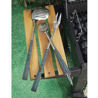Golf Club 3PC BBQ Tool Set