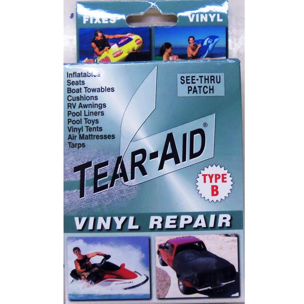 Tear Aid Vinyl Repair Kit Type B 3 Quot X 12 Quot Patch Gander