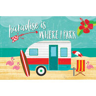 Reversible Placemats, Paradise Is Where I Park