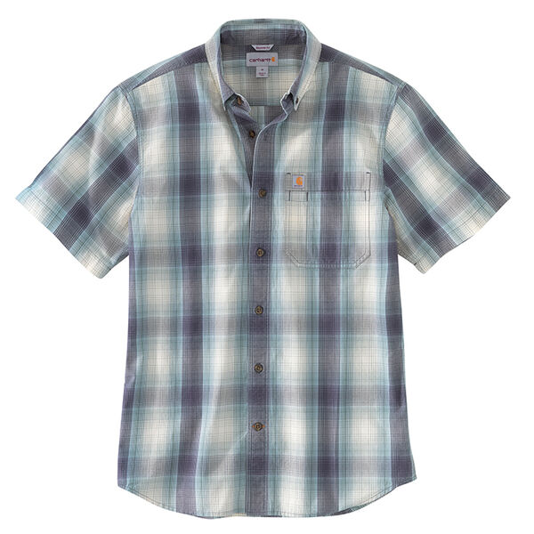 Carhartt Men's Lightweight Short-Sleeve Plaid Shirt