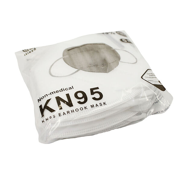 KN95 Protective Face Masks, 5-pack
