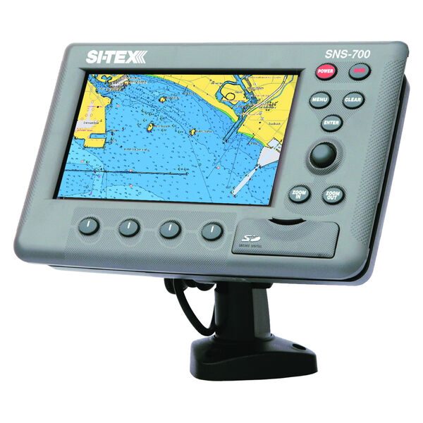 Si-Tex SNS-700EF Chartplotter/Fishfinder Combo With External GPS Antenna