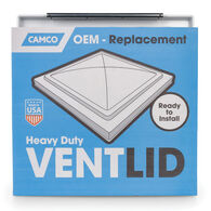 Unbreakable Polycarbonate Replacement Vent Lid, White