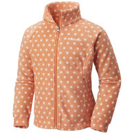 Columbia Girls' Benton Springs II Printed Full-Zip Fleece Jacket