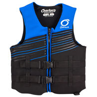Overton's Men's BioLite Life Jacket With Flex-Fit V-Back - Blue - 3XL