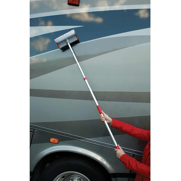 Adjust-a-Brush Quik Connect System, Brush with Pole