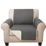 Quilted Reversible Furniture Cover Protector, Chair Cover
