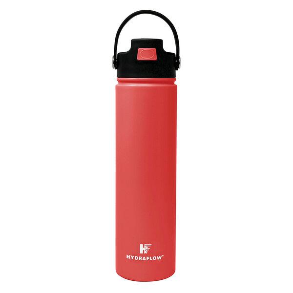 Hydraflow Hybrid 25-oz. Bottle w/Flip Straw, Strawberry