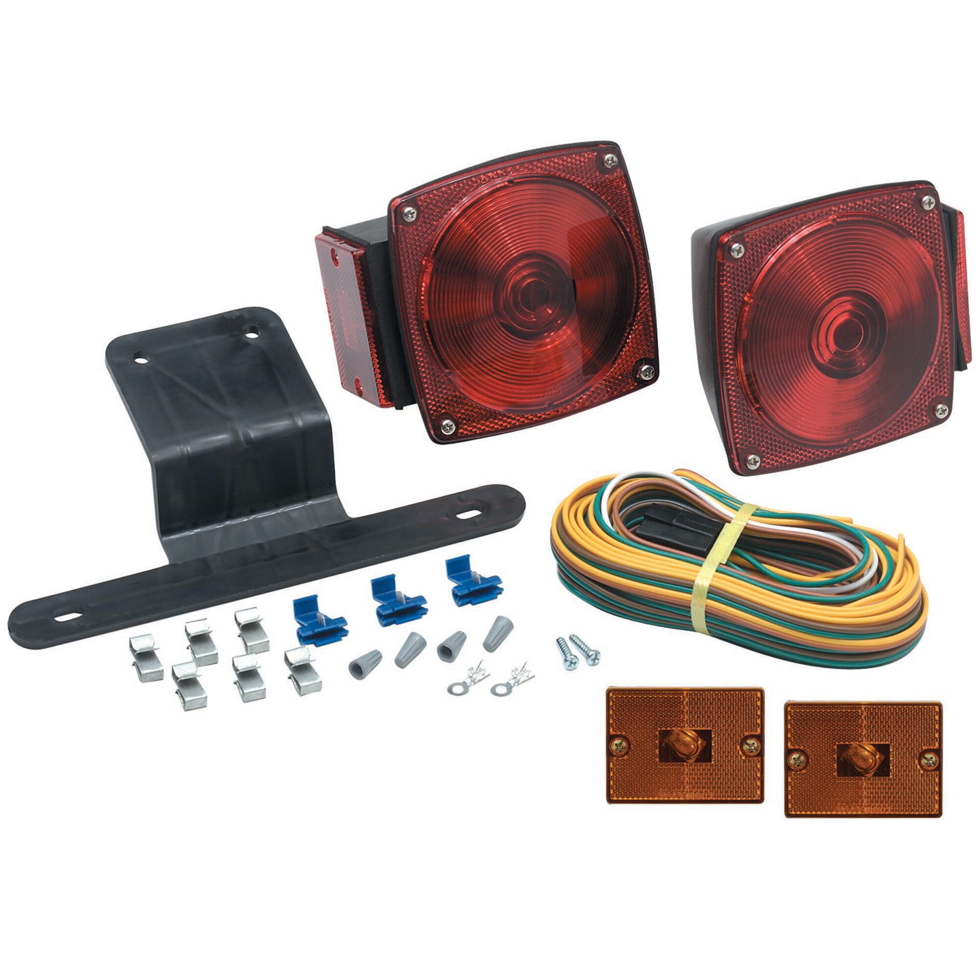 optronics submersible universal mount combination trailer light kit Trailer Harness Diagram
