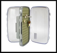 Kingfisher Medium Slim Fly Box with Silicon Liner