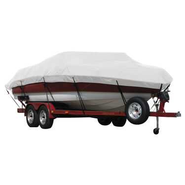 Exact Fit Covermate Sunbrella Boat Cover for Tracker Tournament Tx 17 Sc Tournament Tx 17 Single Console W/Starboard Trolling Motor O/B