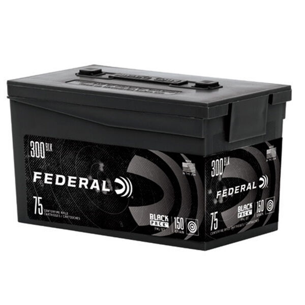 Federal Black Pack Ammo, .300 Blackout
