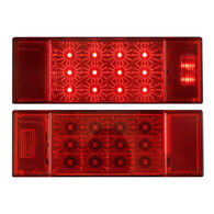 Optronics Rectangular Combination Tail Light Set