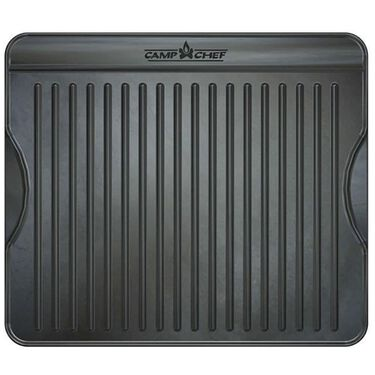 Camp Chef Reversible Pre-Seasoned Cast Iron Grill & Griddle