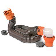 RhinoFLEX Swivel RV Sewer Hose Kit, 15'