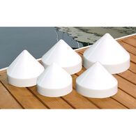"""Dockmate Conehead Cap for Round Pilings, 11"""" Dia."""