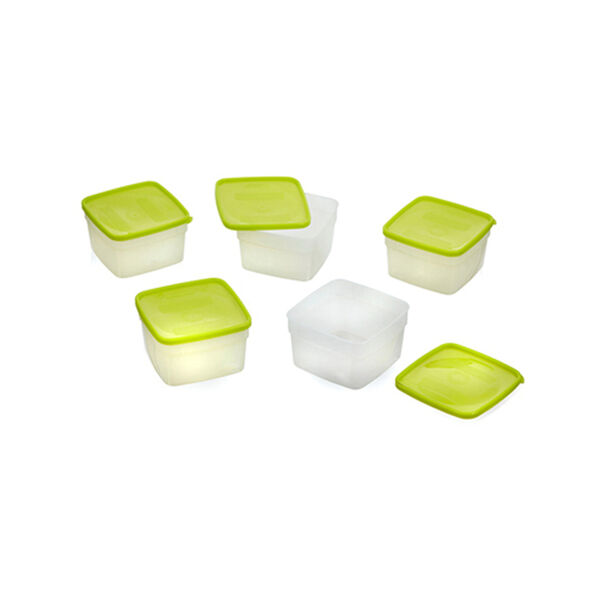 Arrow Stor-Keeper Freezer Storage Pint Containers, 5-Pack