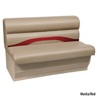 "Toonmate Premium Pontoon 45"" Wide Lounge Seat w/Mocha Base"